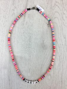 Collar Silicona Mini Multicolor Nombre